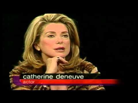 Catherine Deneuve- Charlie Rose 2000, Part 1