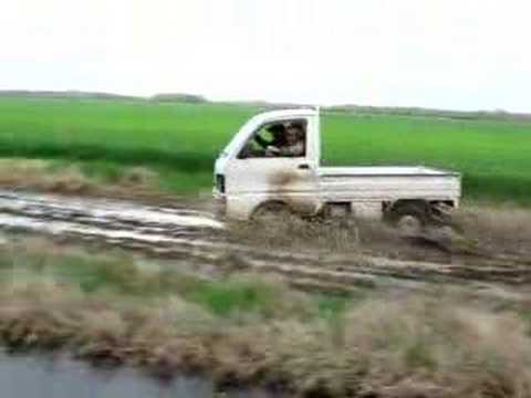 Mini Truck in the Mud Video