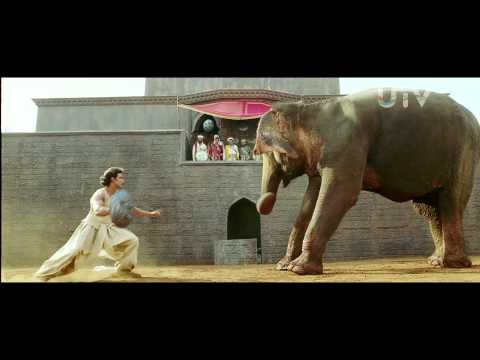 Jodhaa Akbar | 2008 | Elephant Fight Scene  | Hrithik Roshan video