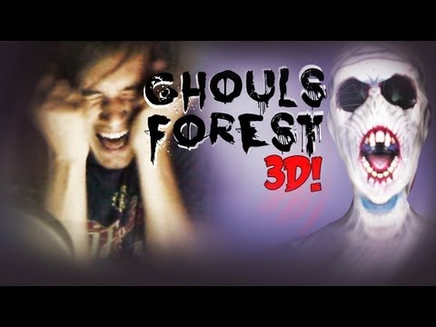 JUMPSCARE FEST ;_; - Ghouls Forest 3 - 3D REMAKE!
