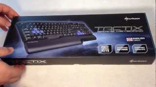 Sharkoon Tactix Gaming Keyboard Review