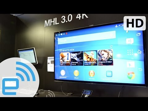 Silicon Image s MHL 3.0 Demo | Engadget at MWC