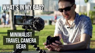Fujifilm Minimalist Travel Photography Camera Gear - What's in My Bag