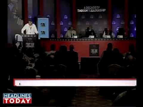 Farooq Abdullah Speech at India Today conclave 2011