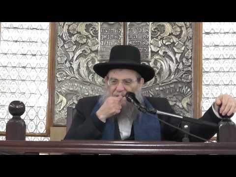 """הרב יצחק ברדא - הלכות חג הפסח - התשע""""ט 31.3.19"""