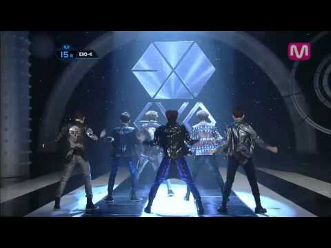 Exo-k mama(mama By Exo-kmcountdown 2012.05.10) video