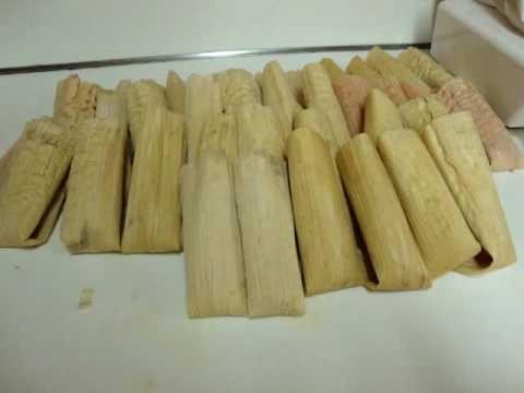 Receta de los tamales comida mexicana parte final