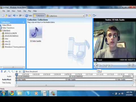 Windows Live Movie Maker  Use Slow Motion  YouTube
