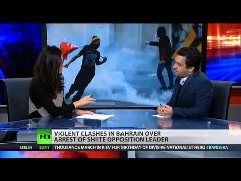 Violent clashes in Bahrain over arrest of Shiite opposition leader