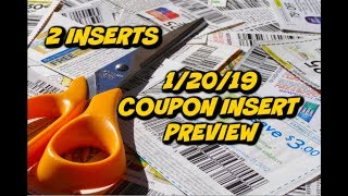 1/20/19 COUPON INSERT PREVIEW & TOP PRINTABLE COUPONS THIS WEEK!