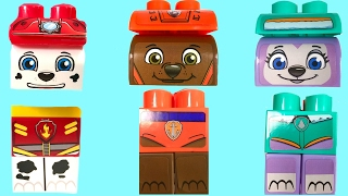 Best Learning Colors Video  - Paw Patrol Marshall Everest Zuma Ionix Legos