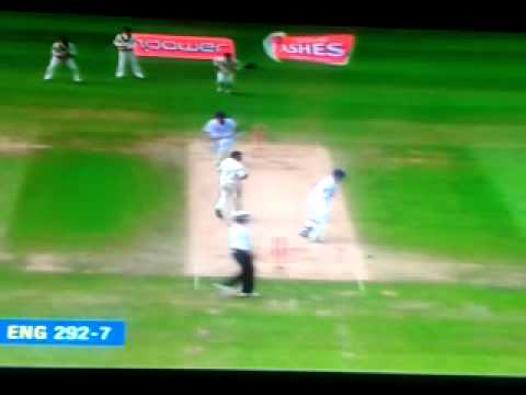 Johnathan TROTT 119 vs Australia Ashes 2009