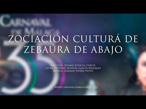 """Carnaval de Málaga 2015 - Murga """"Zociación Culturá de Zebaúra de Abajo"""" Preliminares"""