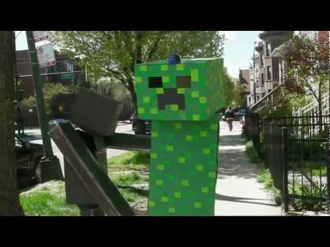Endermen Adventures Episode 3: Of Cubs and Cubes (Minecraft Costumes)