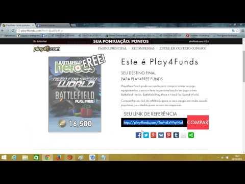 Como Ganhar funds gratis no Bfh