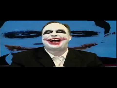 Alex Jones Dressed As The Joker:Special Broadcast Obama Is The Joker - Aka Barry Soetoro - Aka Alex Jones President Obama Is The Perfect Lynchpin To Set Off ...