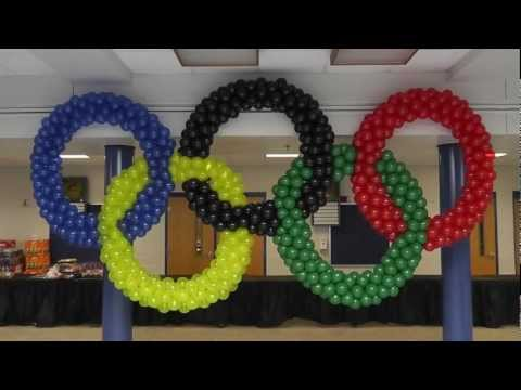 Olympic Rings at Forest Park High School 10-6-12