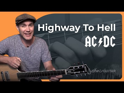 How to play Highway To Hell by AC DC Guitar Lesson SB 322