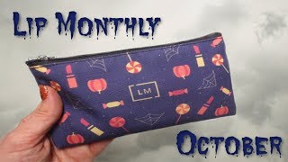 Lip Monthly - October 2018 Bag!