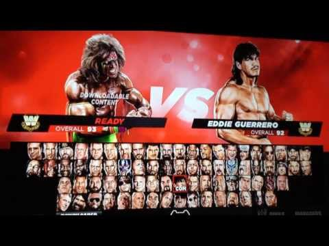 Unlock Everything in WWE 2K14
