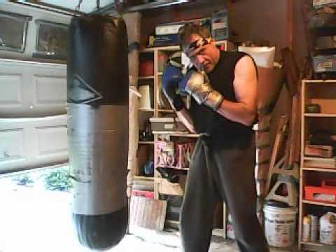 Heavy Bag Training by Keith Herrel - Set 6 - Savate, Shovel Hook ( ith carl herrel ) Image 1
