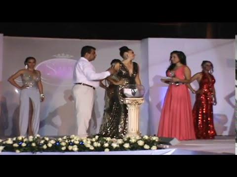 Maria Fernanda Sotelo ganadora del certamen de belleza y nueva reina del 13 de Abril.