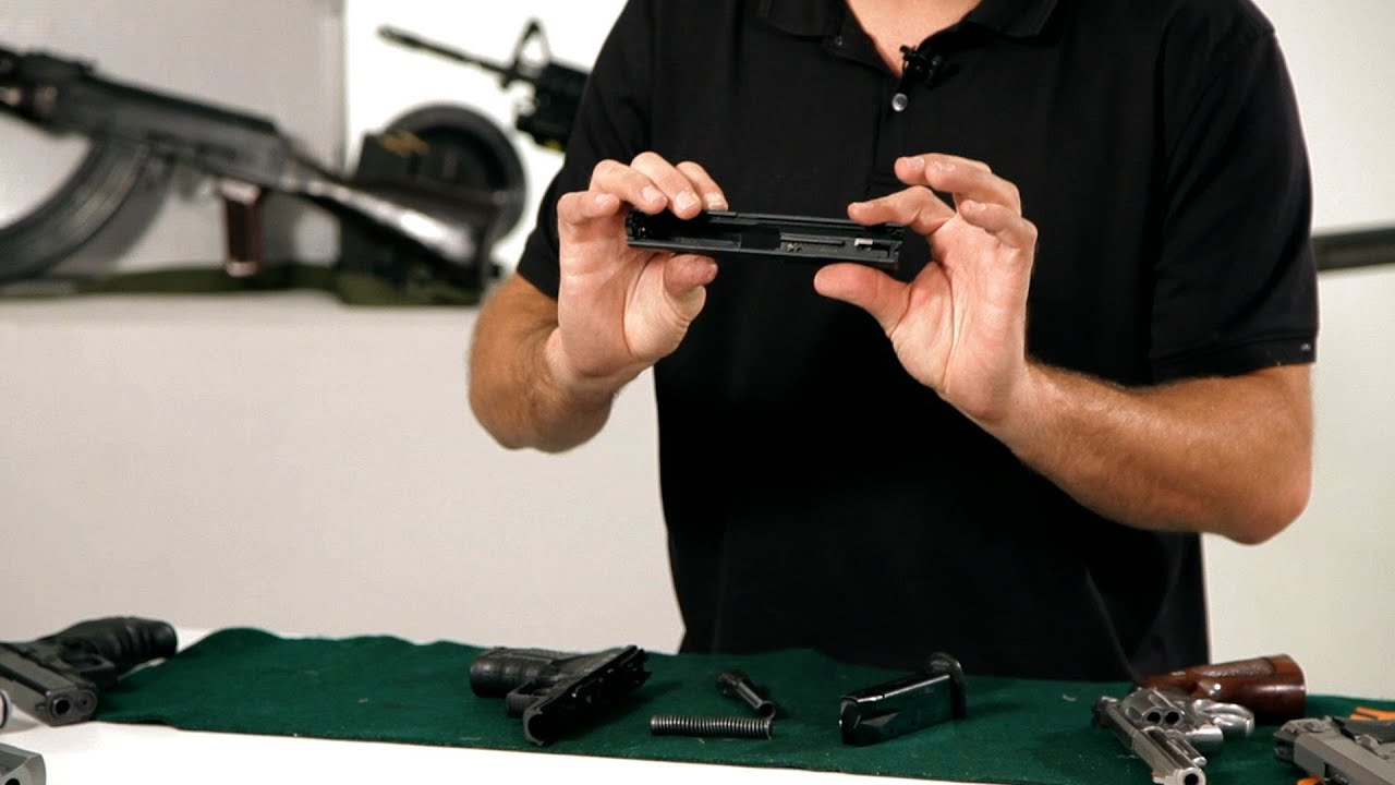 Disassembly Walther How to Disassemble a Walther