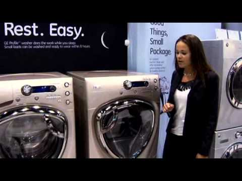 KBIS 2010 GE Profile Frontload Laundry