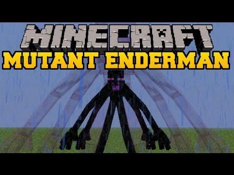 Minecraft: MUTANT ENDERMAN - Mod Showcase