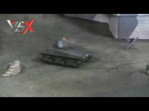VSTANK X 1/72 RC TANK US M4A3 SHERMAN