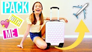 PACKING for an Airplane Trip  ✈️ - VIDCON
