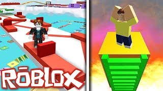 DIT PARKOUR IS ENORM! ROBLOX SUPER PARKOUR OBBY!