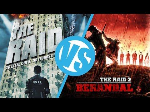 The Raid: Redemption VS The Raid 2 : Movie Feuds ep109
