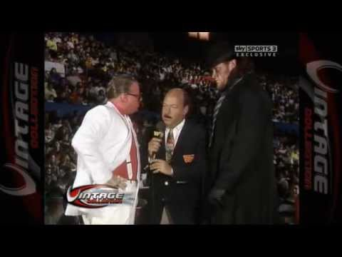 The Undertakers First Wwf wwe Appearance video