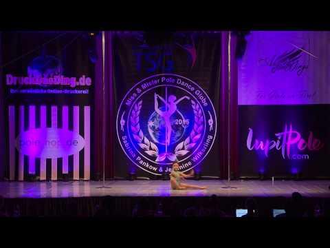 Miss & Mister Pole Dance Globe 2015 - Jia Ling Chen - Bronze - Juniors 6 - 13