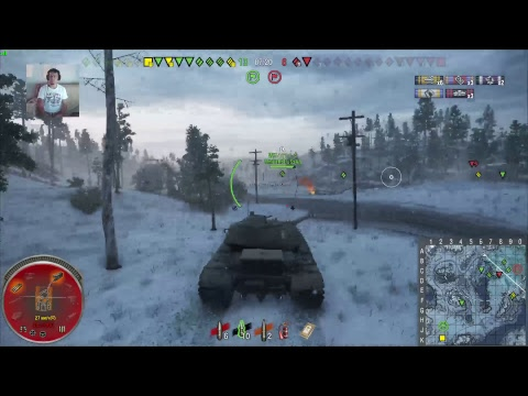 World of tanks.PS4.World of tanks.Рандом взводом[1080p,60fps]