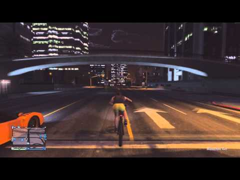 Grand Theft Auto 5 Online - Officer Speirs -  Biking Accident