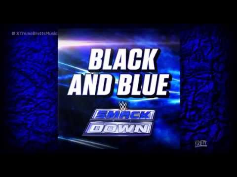 Wwe: black And Blue [itunes Release] By Cfo$ ► Smackdown New Theme Song video