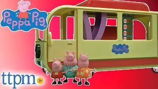 Peppa Pig's Transforming Camper Van from Jazwares