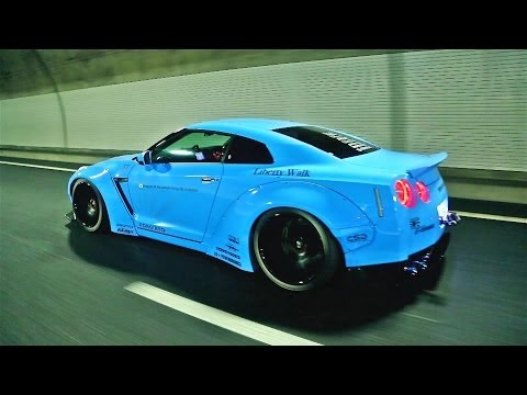 Modified Nissan GT-R w/ Armytrix Exhaust Epic Sounds