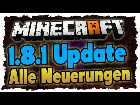 MINECRAFT 1.8.1 - Was ist neu? (German) - Alle Änderungen gezeigt!