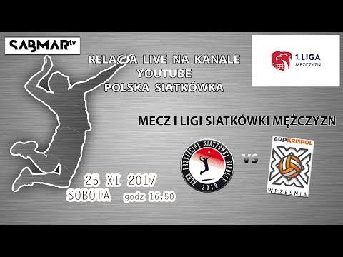 I Liga Siatkówki KPS Siedlce - APP Krispol Września