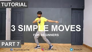 How to Dance | Basic Dance Steps for beginners | 3 Simple Moves | Deepak Tulsyan [ HINDI ]