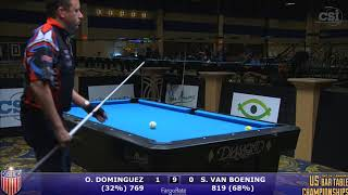 2017 US Bar Table Championships 9-Ball: Oscar Dominguez vs Shane Van Boening