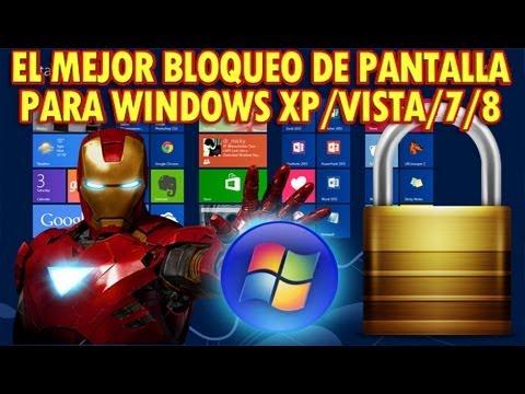 El mejor bloqueo de pantalla para windows xp vista 7 8 for Fondo de pantalla bloqueo