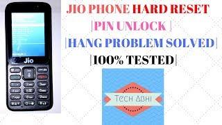 Jio Phone Hard Reset (F90M) | Pin Unlock | Hang  Problem solved in hindi | by Tech Abhi
