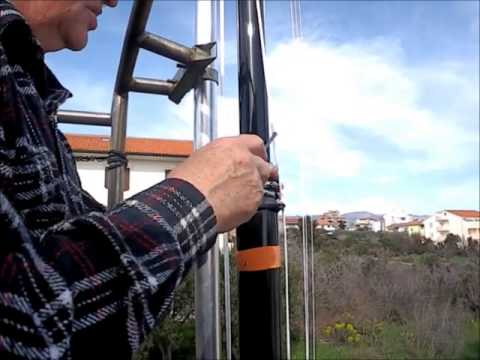 (3) Raising Telescopic 18 m Antenna EU170 (part 1)