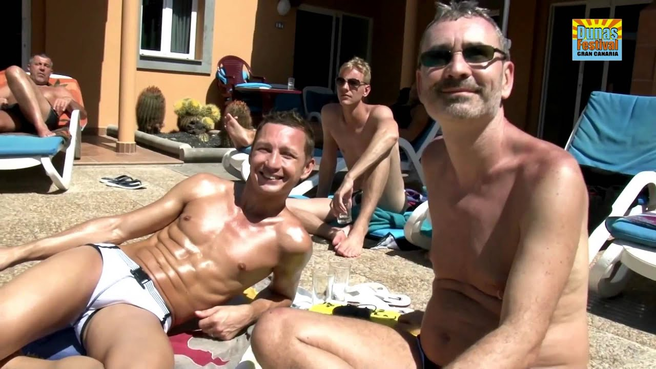 gay pornodarsteller party gran canaria