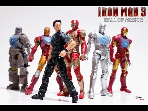 Iron Man 3 (Hall of Armor) 3 3/4 inch Online Exclusive Set REVIEW