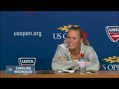 2009 全米オープン Press Conferences: C. Wozniacki (Fourth Round)